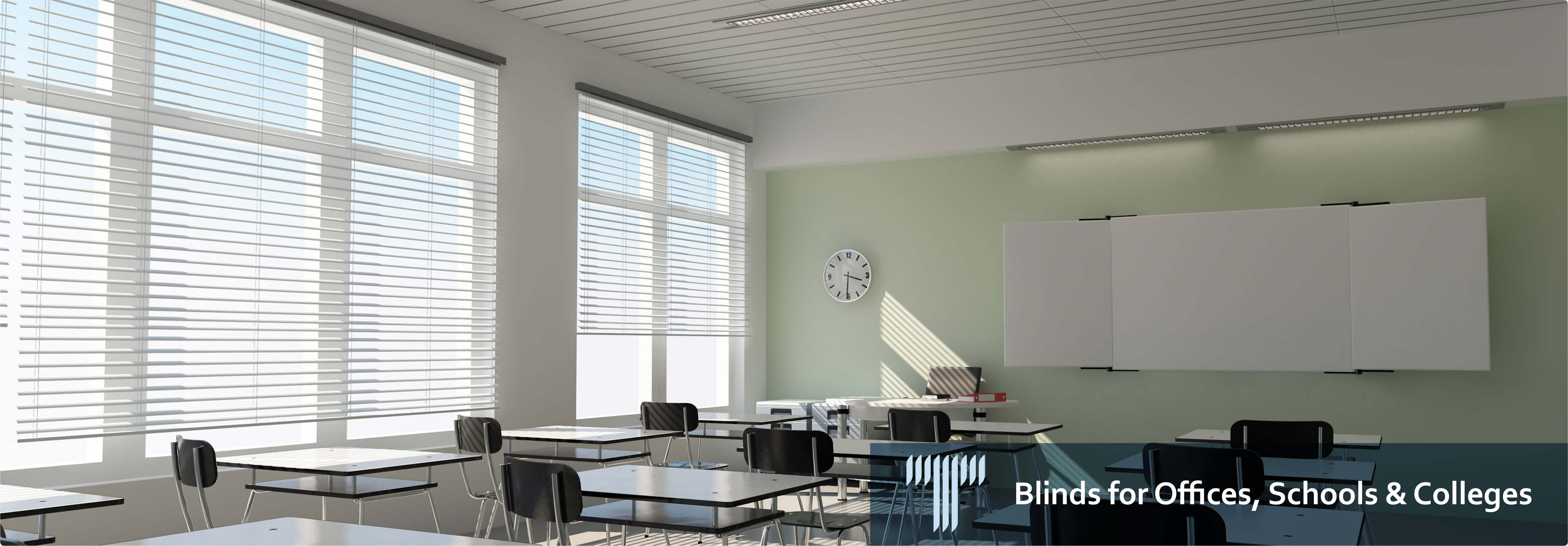 blinds for offices schools colleges in surrey techniblinds ltd